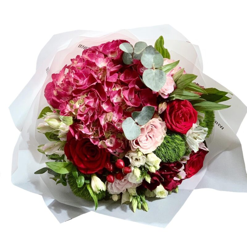 buchet de flori mixt bacau